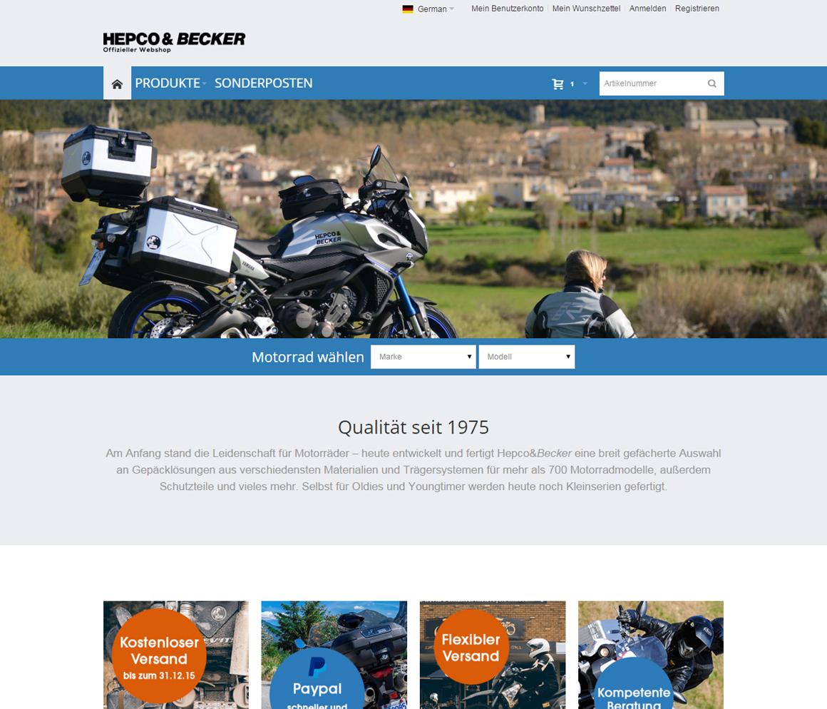 Hepco&Becker Startseite