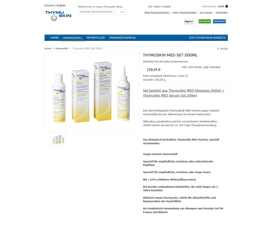 thymuskin.de Produktdetail vorheriger Zustand