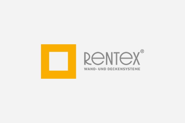 Web-Showroom für Rentex Wand- und Deckensysteme GmbH