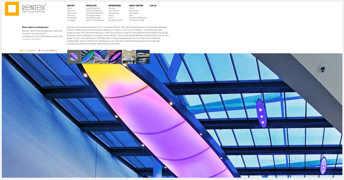 Rentex Systeme - Webdesign Contao